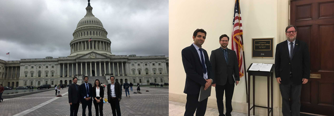 Mahmoud Behzadirad and James Hendrie Join OSA's Capitol Hill Visit