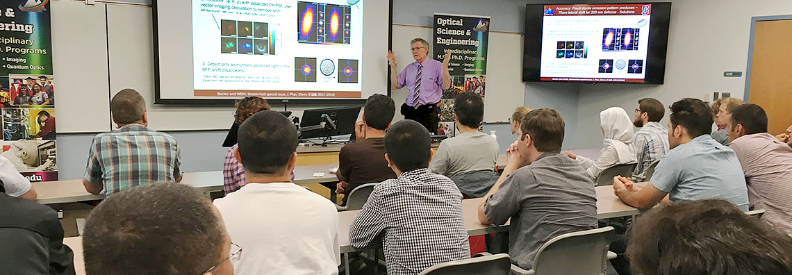 2014 Nobel Laureate in Chemistry speaks at UNM and OSE Seminar