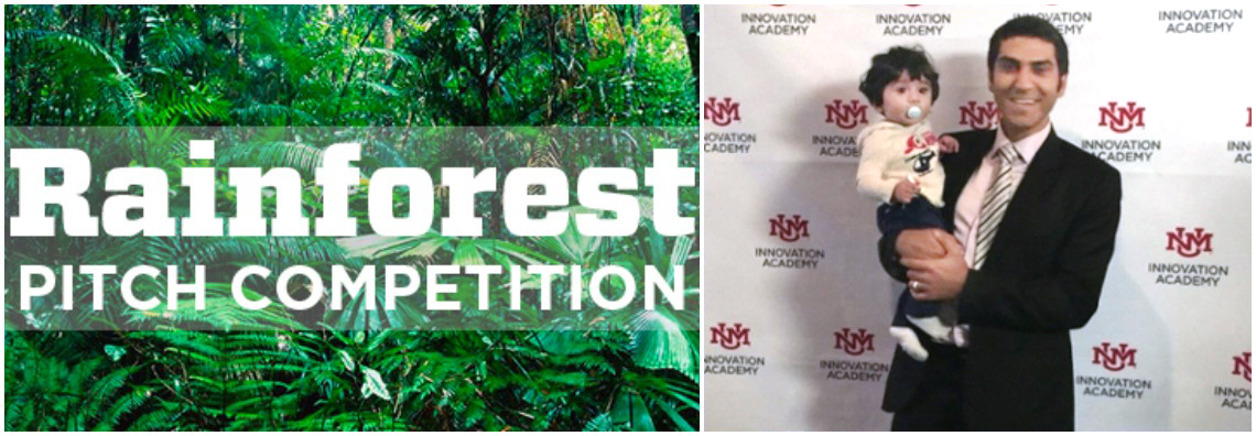 CHTM Graduate Student Mostafa Peysokhan as Finalist  in Rainforest Student Pitch Competition For Innovative Idea