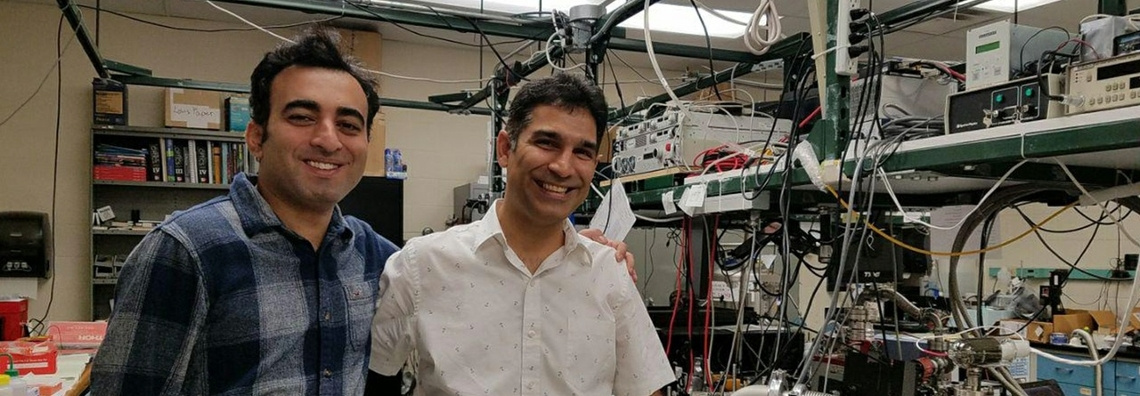 UNM OSE labs collaborate with German group in laser-cooled glass research