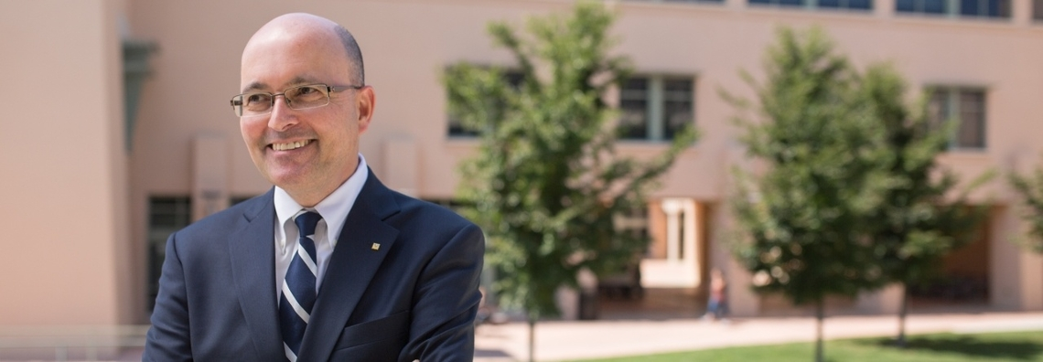 OSE Faculty Member and Distinguished Professor Edl Schamiloglu looks back on three decades at UNM
