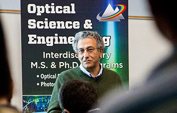 Nader Engheta leads presentation in OSE Distinguished Lecture Series