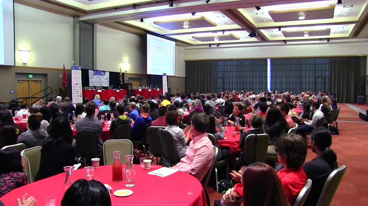 500 people packed the UNM Student Union Ballrooms all day