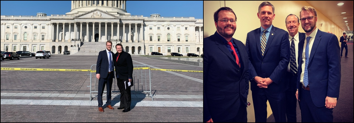 OSE Students Luke Horstman and Kaleb Campbell Join OSA's Capitol Hill Visit