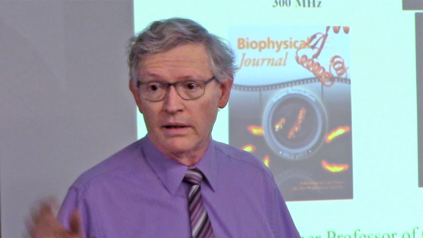 W. E. Moerner, 2014 Nobel Laureate in Chemistry, presents at OSE Seminar